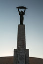 Liberation statue in budapest hungary Royalty Free Stock Photography