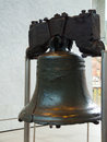 Liberty bell view of the famous in phladelphia Royalty Free Stock Photos