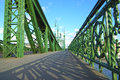 Liberty bridge budapest hungary Royalty Free Stock Photo