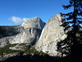 Liberty cap and half dome Royalty Free Stock Photos