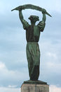 Liberty Statue in Budapest, Hungary Royalty Free Stock Photography