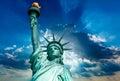 Liberty Statue New York American Symbol USA Royalty Free Stock Photo