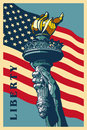 Liberty Torch. Royalty Free Stock Photo