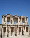 Library of Celsus. Royalty Free Stock Photo