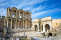Library of Celsus in Ephesus Royalty Free Stock Photography