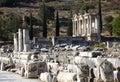 The library of Celsus,  Ephesus, Izmir, Turkey Royalty Free Stock Photos