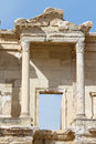 Library of celsus in ephesus turkey Royalty Free Stock Photos