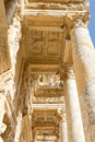 Library of celsus in ephesus turkey Stock Photo