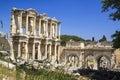 Library of celsus in ephesus turkey smyrna Stock Photo
