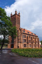 Library former church of st nicolas in slupsk poland the municipal public Royalty Free Stock Photos