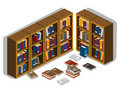 Library Isometric Stock Images