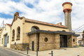 Library of sant celoni former municipal slaughterhouse barcelona spain Royalty Free Stock Photography