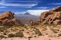 Licancabur Volcano - Atacama Desert - Chile Royalty Free Stock Photo