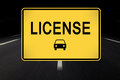 License Royalty Free Stock Photo