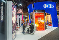 Licensing expo las vegas june the cbs booth at the in las vegas nevada on june is the industry s largest Stock Image