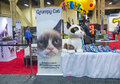 Licensing expo las vegas june the grumpy cat booth at the in las vegas nevada on june is the industry s Stock Image