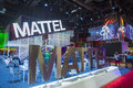 Licensing expo las vegas june the mattel booth at the in las vegas nevada on june is the industry s Royalty Free Stock Photos