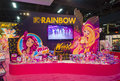 Licensing expo las vegas june the rainbow booth at the in las vegas nevada on june is the industry s Stock Image