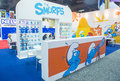 Licensing expo las vegas june the smurfs booth at the in las vegas nevada on june is the industry s Royalty Free Stock Image