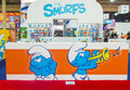 Licensing expo las vegas june the smurfs booth at the in las vegas nevada on june is the industry s Royalty Free Stock Photo