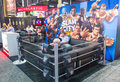 Licensing expo las vegas june the wwe booth at the in las vegas nevada on june is the industry s largest Stock Images