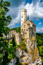 Lichtenstein Castle Royalty Free Stock Photo