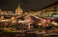 Lichterzug (Lantern Procession) Christmastime- Nuremberg-Germany Royalty Free Stock Photo
