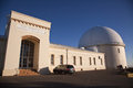 Lick observatory view of inch telescope in california Stock Photography