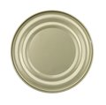 Lid or Base of Food Tin Can Royalty Free Stock Photo