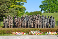 Lidice memorial Stock Photo