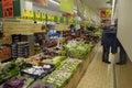 Lidl chain market copenhagen denamk consumers shopping in german food maket on amager island i kastrup september photo by francis Stock Photography
