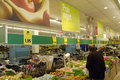 Lidl chain market copenhagen denamk consumers shopping in german food maket on amager island i kastrup september photo by francis Royalty Free Stock Photography