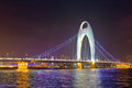 Liede bridge in Guangzhou Stock Photo
