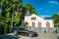 Liepaja wooden church Royalty Free Stock Photo