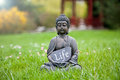 Life buddha statue with the word Stock Image