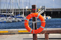 Life Buoy Bright Red Color