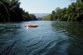 Life Buoy on the lake