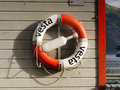 Life Buoy Lifeboat Ship Board Royalty Free Stock Photo