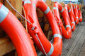 Life buoys Royalty Free Stock Image