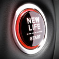 Life Change Concept Royalty Free Stock Photo