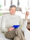 Life of an elderly person. Royalty Free Stock Photos