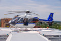 Life Flight Helecopter Royalty Free Stock Images