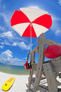 Life Guard Stand Royalty Free Stock Images