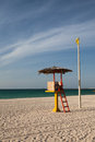 Life Guard Stand station Royalty Free Stock Photo