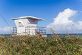 Life Guard station closed Royalty Free Stock Photo