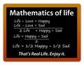 Life happy sad