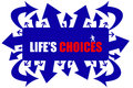 Life's choices Stock Image