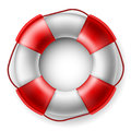 Life saver red and white Stock Photography