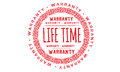Life time approved icon Royalty Free Stock Photo