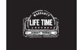 Life time warranty icon Royalty Free Stock Photo